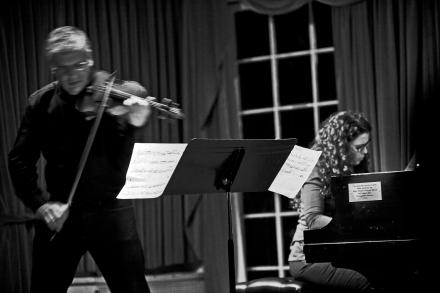 Mark Feldmans and Sylvie Courvoisier