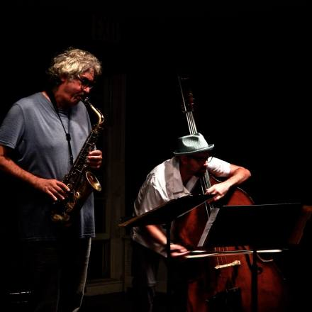 Tim Berne and John Hébert