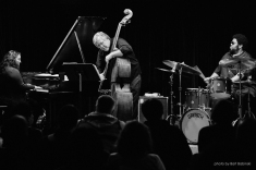 Photo: Bart Babinski ©2017 SOUND IT OUT series at Greenwich House Music School: Wadada Leo Smith and Angelica Sanchez + Angelica Sanchez Trio with Michael Formanek and Tyshawn Sorey, March 25th, 2017, New York City